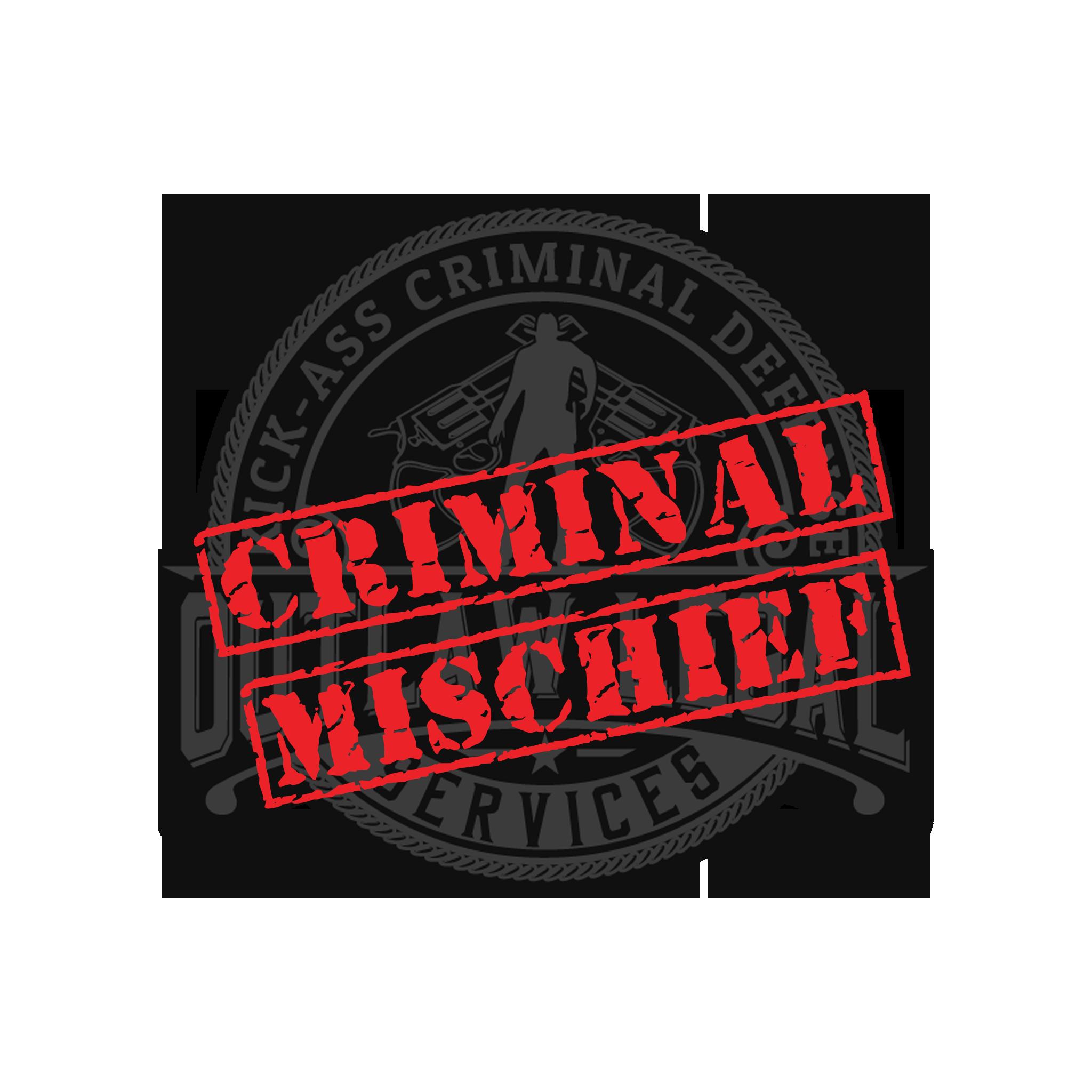 Criminal Mischief Criminal Defense Attorney Lawyer Utah